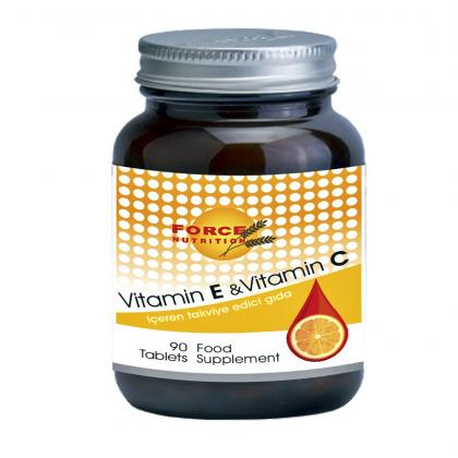 force-nutrition-vitamin-e---vitamin-c-90-tablet-force554777