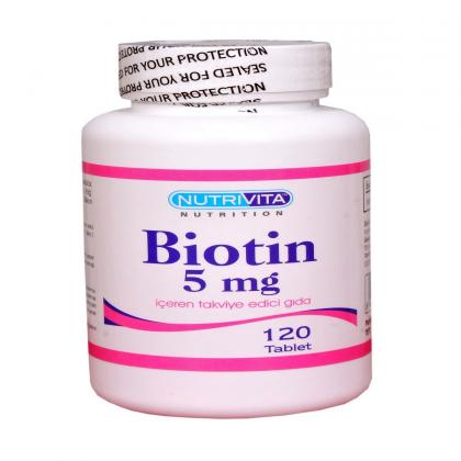 nutrivita-nutrition-biotin-5-mg-120-tablet-nutrivita000555